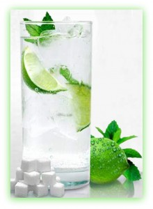 Mojito With Clean Water & Ice