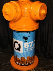 Great Chicago Fire Hydrant by 2013 Lollapalooza Musicians