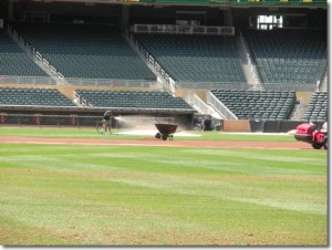 Rain Water Captured and Reused At Target Field
