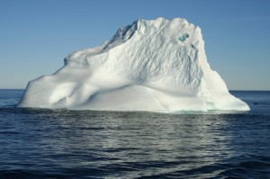 Iceberg Chock Full of Clean Water