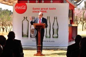 Coca-Cola CEO Commits To Clean Drinking Water