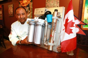 Owen Sound Chef Robin Pradhan Raises Donations For Clean Drinking Water