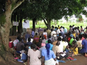 Community Led Clean Water Training In Uganda by ClearWater Initiative