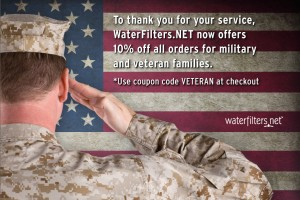 WaterFilters.NET - Veterans Day