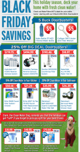 WaterFilters.NET Black Friday Deals