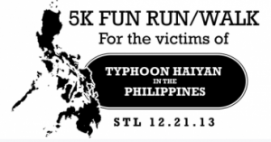 5K Fun Run & Walk St. Louis For Typhoon Haiyan Victims