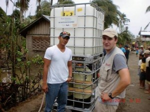 Eddie Pineda Providing Recovery Efforts in Philippines
