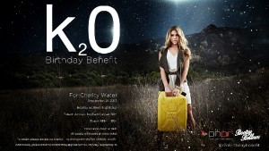 Kate Mansi for charity water
