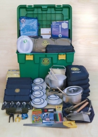 ShelterBox Contaning Water Purification Equipment For Philippines