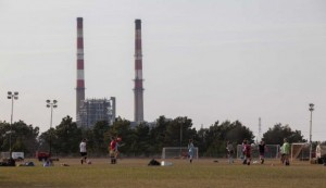 Duke Energy Coal Ash Plant Near Soccer Field