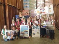 Ramona, California Girl Scouts Support Clean Water Efforts