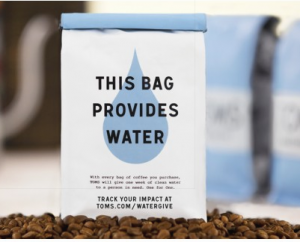 TOMS Coffee For Clean Water