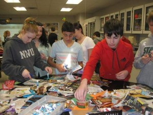 Pathfinder Students Make Beads To Support Clean Water