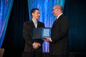 WaterFilters.NET CEO Jamin Arvig Accepts Progress MN Award