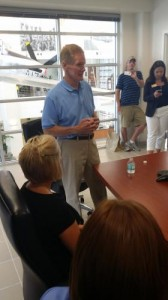 Sen Bill Nelson Advocates For Algae Bloom Control