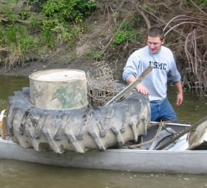 River Cleanin' During National Water Quality Month